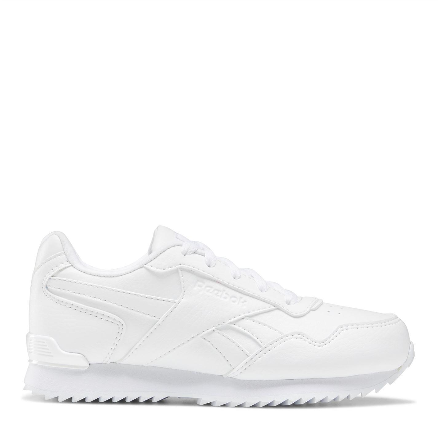 Reebok Royal Glide Ripple Clip Boys Shoes White