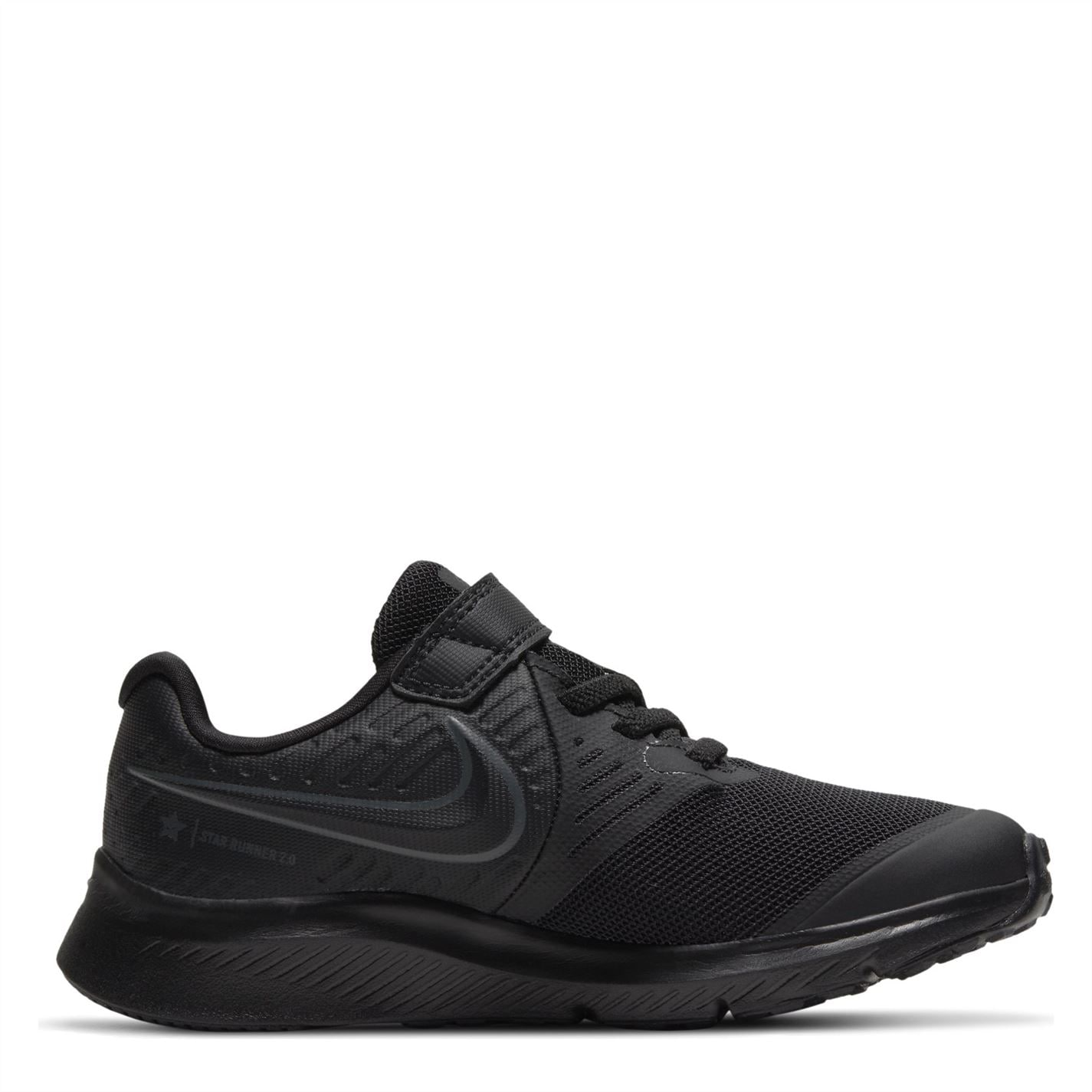 Nike Star Runner 2 Little Kids Shoe BLACK/ANTHRACITE-BLACK-VOLT