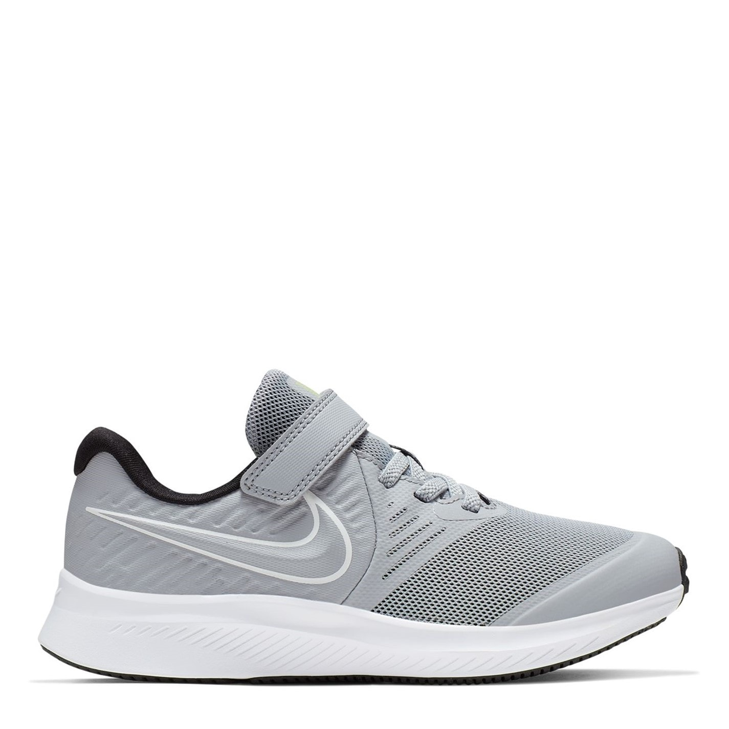 Nike Star Runner 2 Little Kids Shoe WOLF GREY/WHITE-BLACK-VOLT