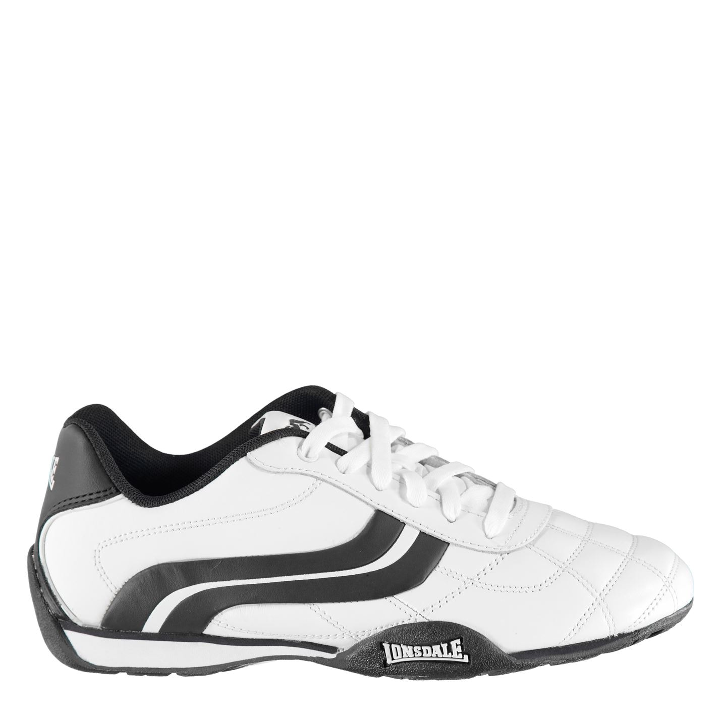 d3927d6f1ed3b Pánske topánky | Lonsdale Camden Mens Trainers White/Navy | Športová ...