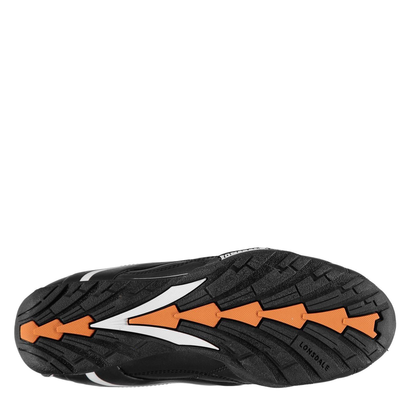 635e5d8a2 Pánske topánky | Lonsdale Camden Slip Mens Trainers Black/White ...