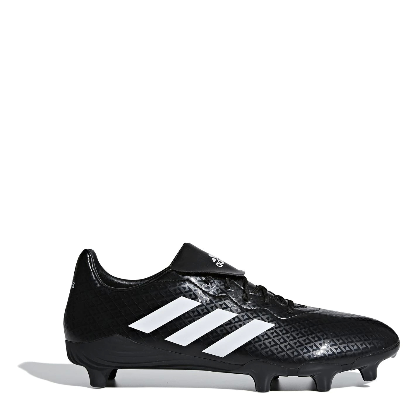 adidas Adidas Rumble Mens Rugby Boots Soft Ground Black/White