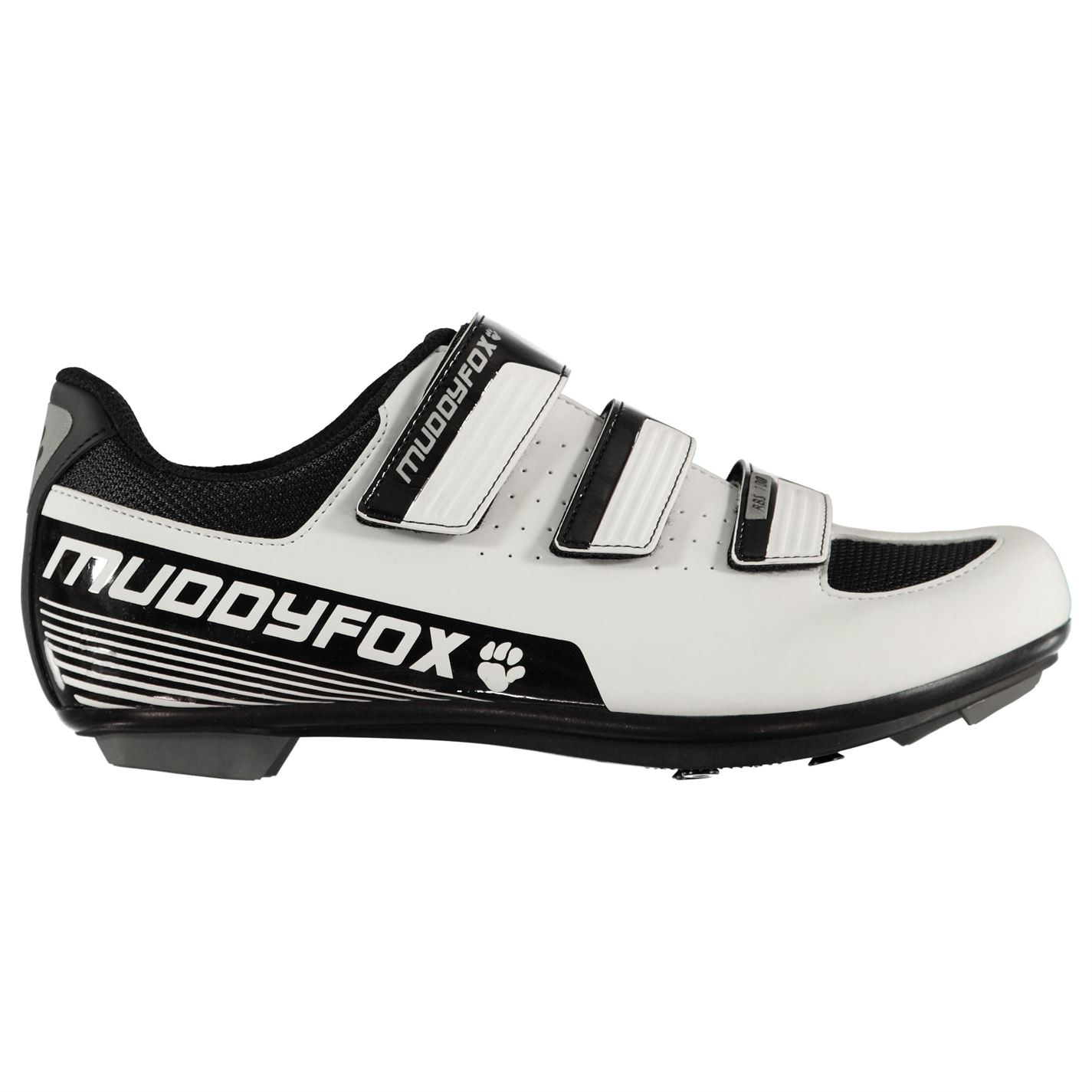 Muddyfox RBS100 Mens Cycling Shoes White/Black