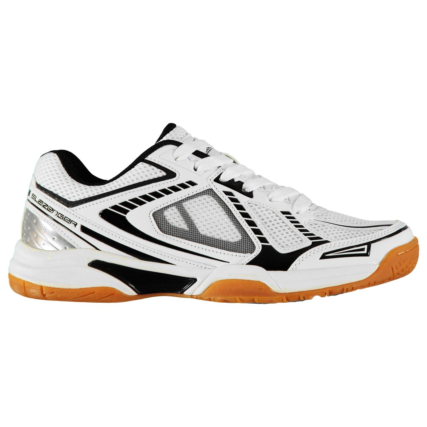 Slazenger Indoor Mens Trainers White/Black