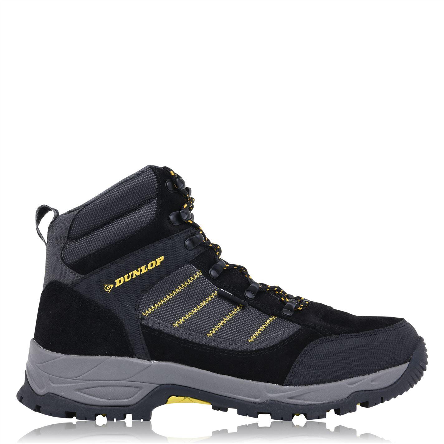 Dunlop Illinois Mens Steel Toe Cap Safety Boots Black