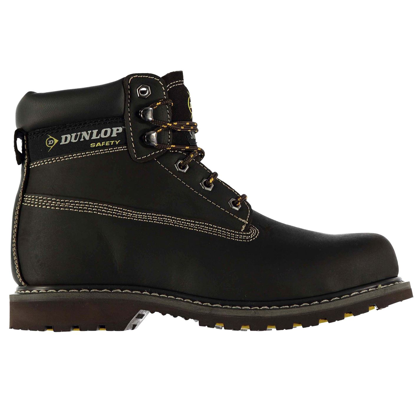 Dunlop Nevada Mens Steel Toe Cap Safety Boots Brown