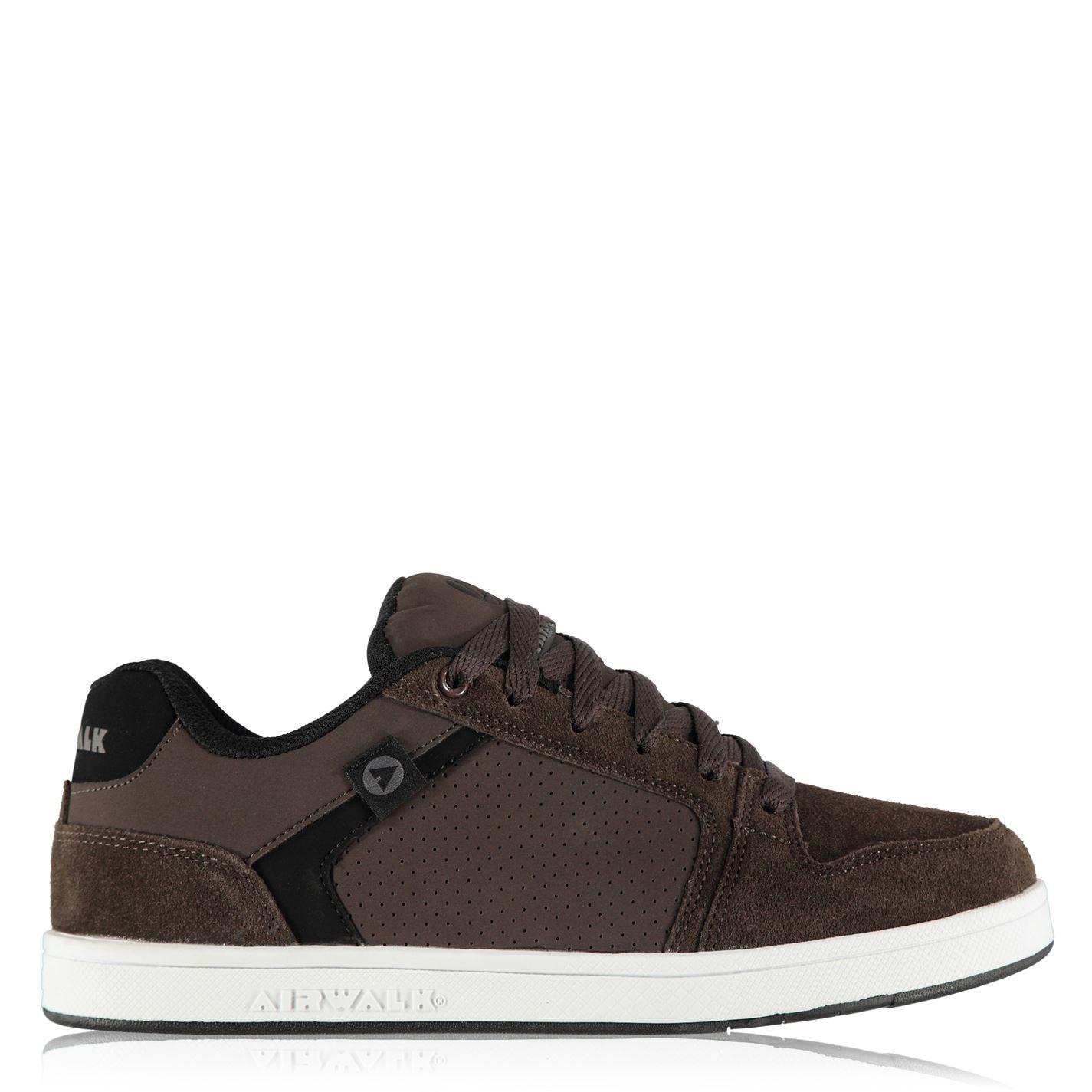 Airwalk Brock Mens Skate Shoes Brown 0b60c0c702