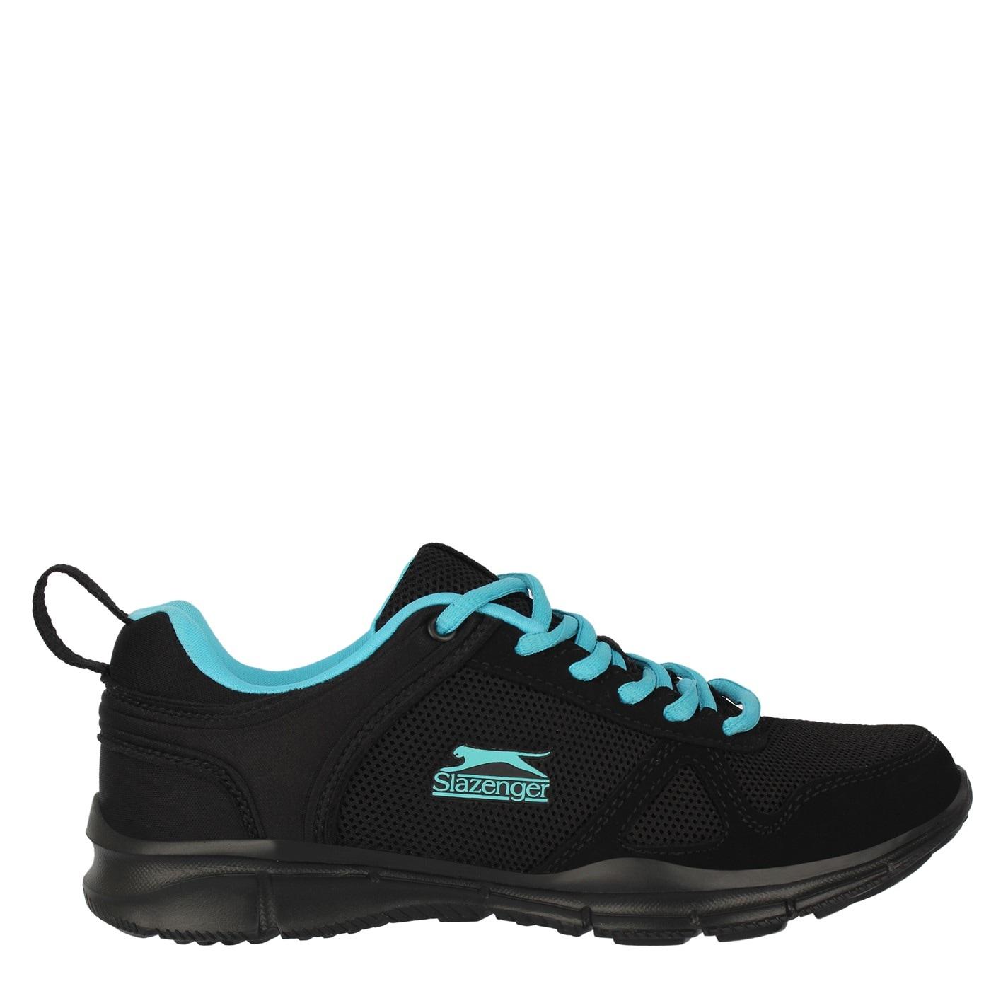 Slazenger Force Mesh dámské běžecké boty Black/Blue