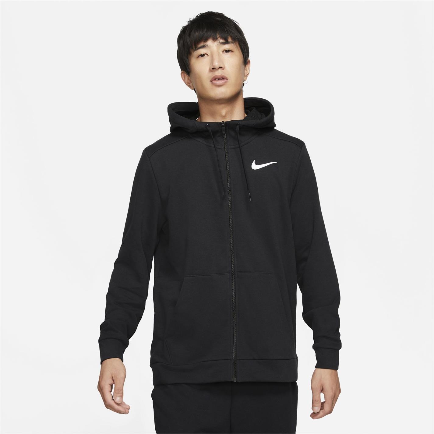 Nike Dry Zip pánská mikina Black 077c3da1f01