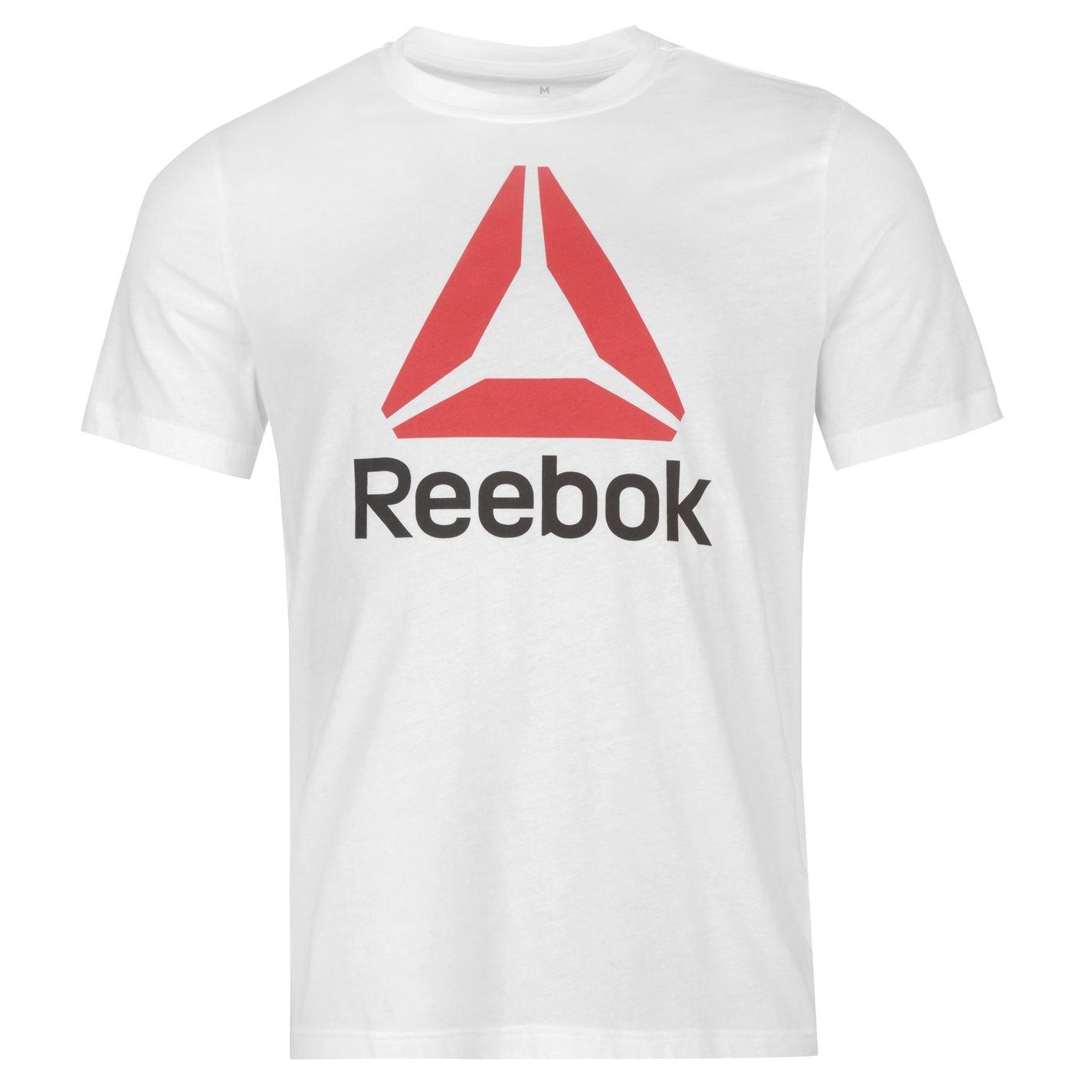 Reebok Stack Delta T Shirt Mens White
