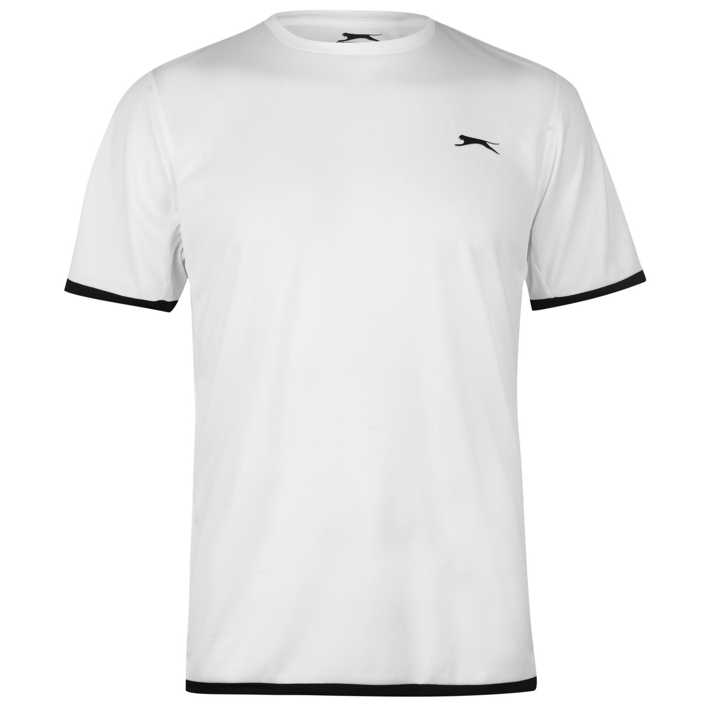 Slazenger Court T Shirt Mens White