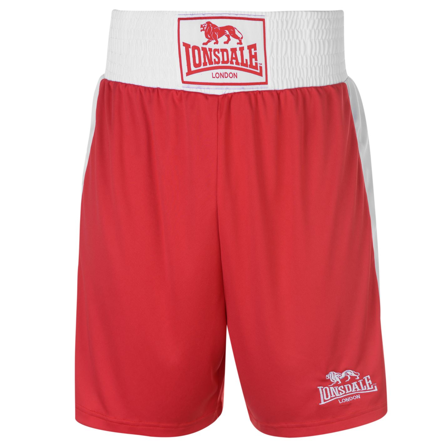 Lonsdale Box Short Snr Red/White