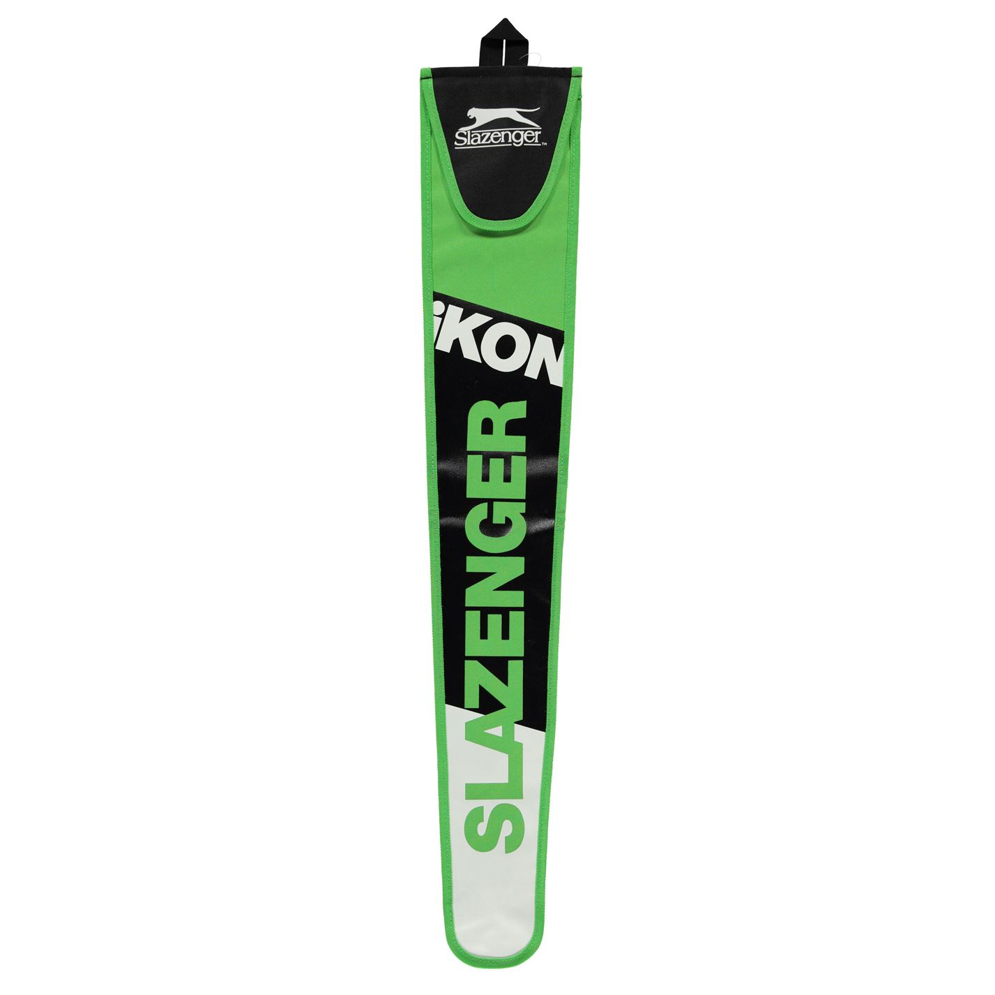 Slazenger Ikon Stick Bag Black/Green