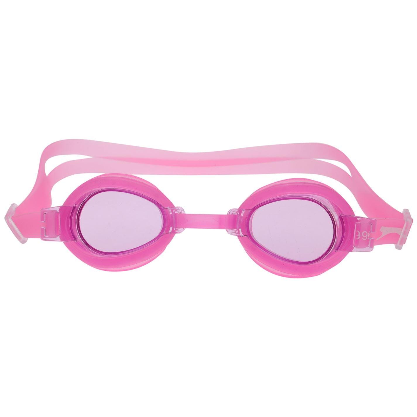 Slazenger Wave Swimming Goggles Juniors Pink