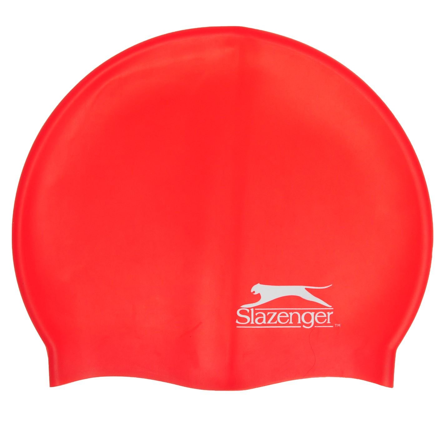 Slazenger Silicone Swimming Cap Adults Red