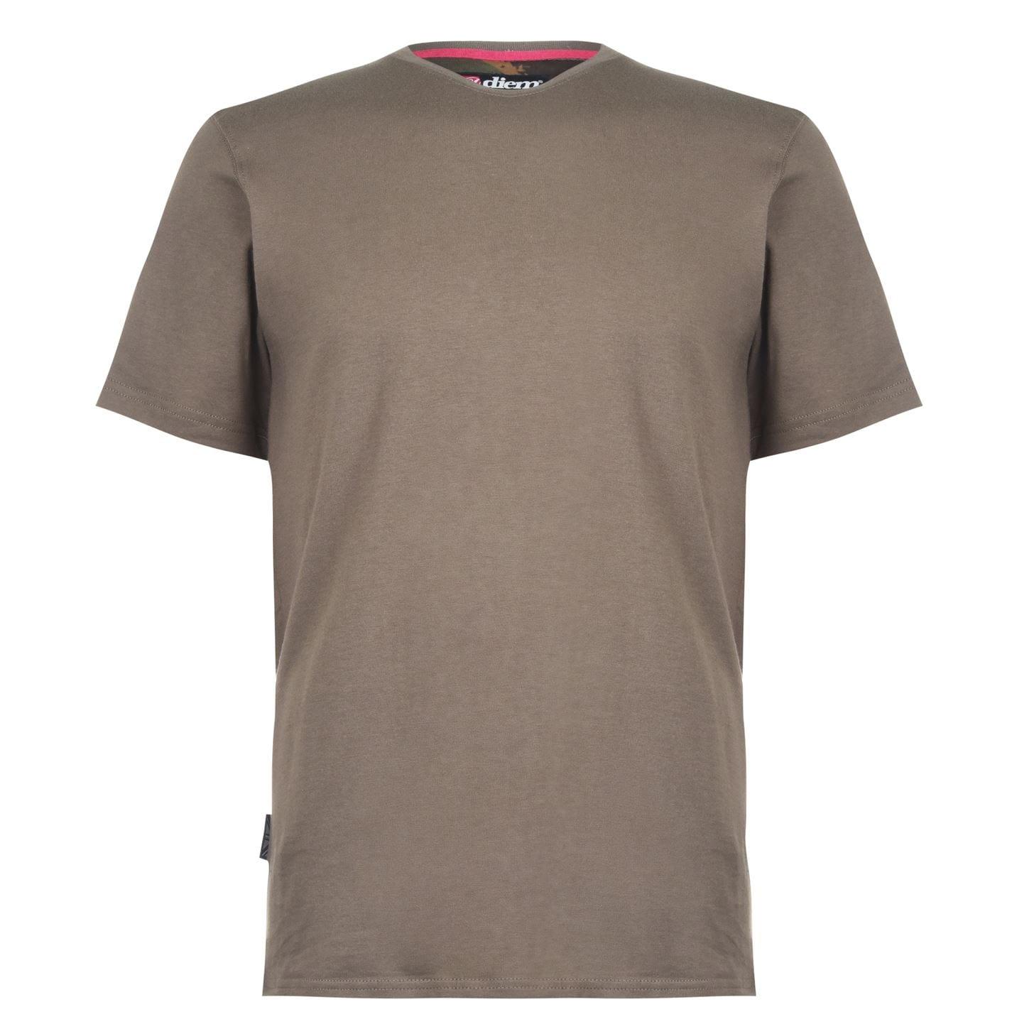 Diem Small Logo Tee Shirt Green