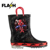 Character Light Up Wellingtons Unisex Infants Spiderman