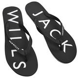 Jack Wills Newlands Flip Flops Black