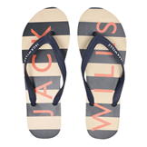 Jack Wills Newlands Flip Flops Blue