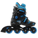 No Fear Inline Skate Junior Boys Black/Blue