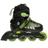 No Fear Edge Junior Skates Black/Green