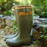 Ariat Burford Wellington Boots Olive