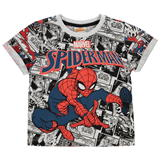 Character Short Sleeve T Shirt Boys Spiderman