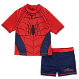 Character 2 Piece Swim Set Junior Spiderman