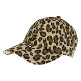 Golddigga Fashion Cap Womens Leopard Print