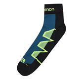 Salomon XA Pro Running 2 Pack Socks Mens Blac/Yellow