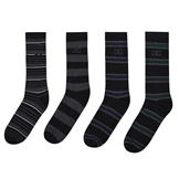 Giorgio 4 Pack Striped Socks Mens -