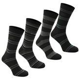 Giorgio 4 Pack Striped Socks Mens -