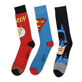 DC Comics 3 pack Crew Sock Mens Multi