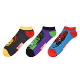 Character Trainer Socks 3 Pack Mens Marvel