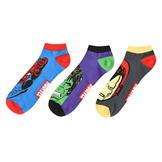 Character Trainer Socks 3 Pack Mens Plus Marvel