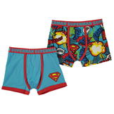 Character 2 Pack Boxers Infant Boys Superman
