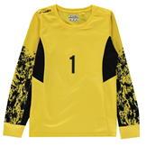 Sondico Core Goalkeeper Shirt Juniors Yellow