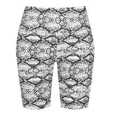 Golddigga Waisted Cycle Shorts Womens Snake