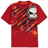 No Fear Core Graphic T Shirt Junior Boys Red