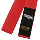 Lonsdale Martial Arts Belt Red