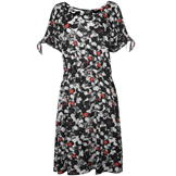 NVME Octavia Dress Ladies Black/White