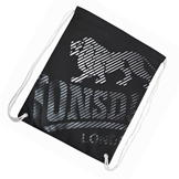 Lonsdale Printed Gym Sack Black