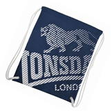 Lonsdale Printed Gym Sack Navy