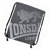 Lonsdale Printed Gym Sack Charcoal