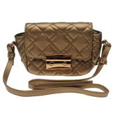 Full Circle Quilted Bag Gold