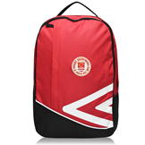 Umbro St Pats Back Pack93 Red/White