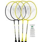 Carlton 4 Player Badminton Set Red/Blue