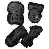 No Fear Skate Protection 3 pack Black