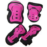 No Fear Skate Protection 3 pack Pink