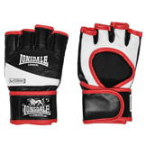 Lonsdale Pro MMA Fighting Gloves Adults Black